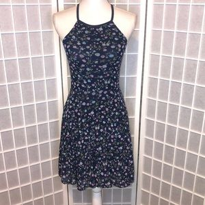 Abercrombie & Fitch XS racerback dress fit flare